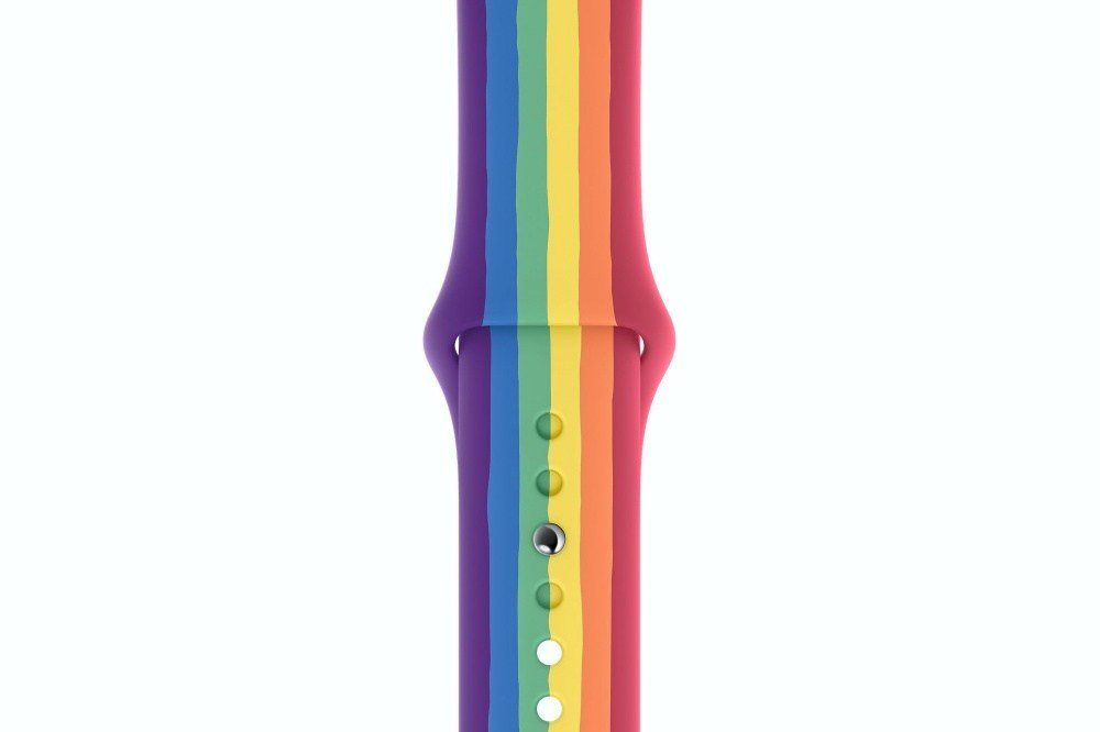 呼應每年同志遊行活動,蘋果首度一次更新兩款彩虹錶帶