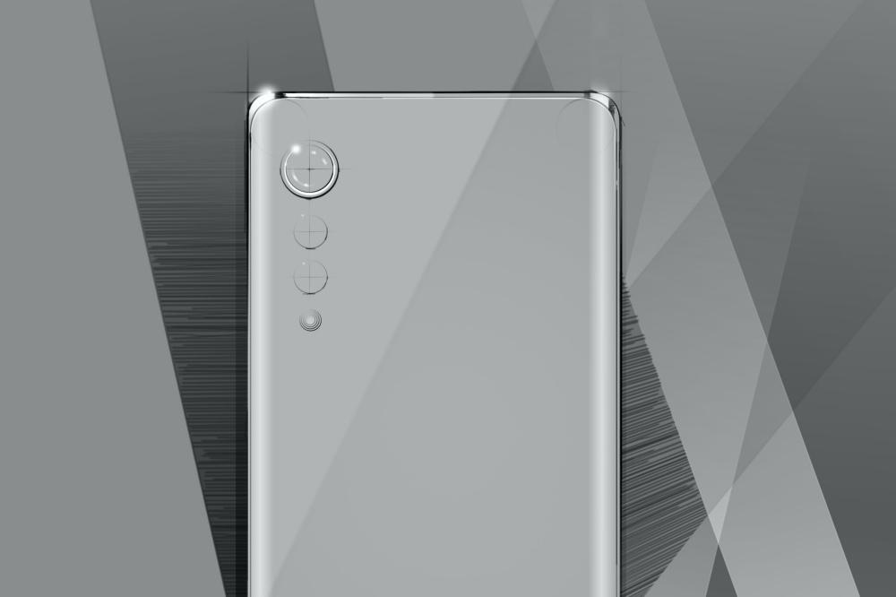 LG New Design 02 LG透露下一款手機設計語言,將採前後雙曲面、雨點排列鏡頭