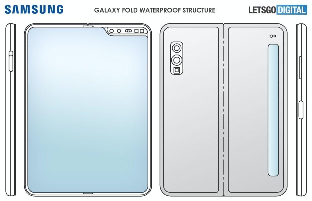 waterdichte opvouwbare smartphone 三星可能在下一款螢幕可凹折手機加入更耐用的防水防塵設計