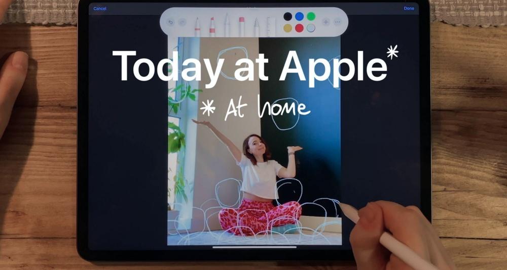 mashdigi capture 2020 04 11 上午9.24.00 防疫期間繼續在家學習創作,蘋果推出全新Today at Apple at Home學習課程