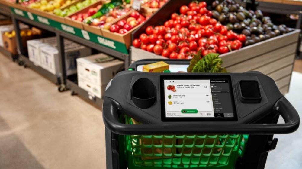 Amazon Dash Cart 2 ST 亞馬遜打造智慧購物推車Dash Cart,方便使用者店內採買