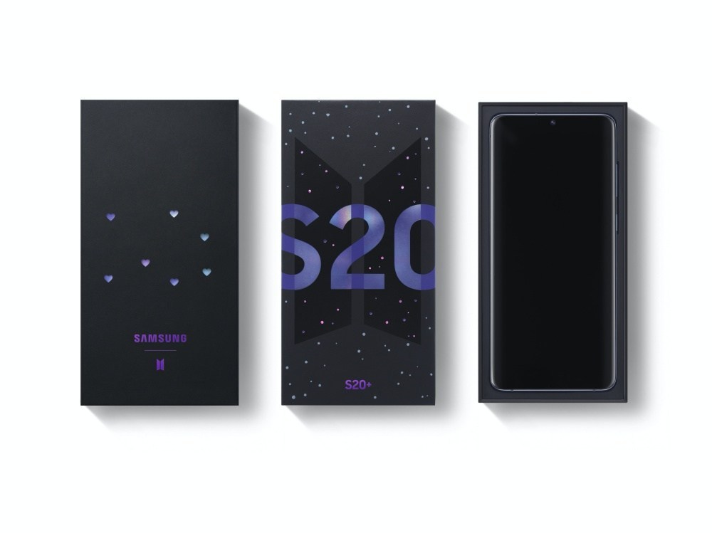 Galaxy S20 BTS Edition 3 BTS特別版Galaxy S20+、Galaxy Buds+將同步於三星官網、亞馬遜銷售
