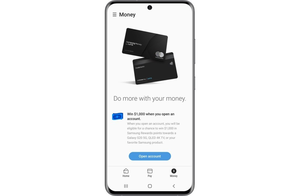 Samsung Pay Money Tab 三星確認與SoFi合作實體金融借記卡,將以Samsung Money為稱