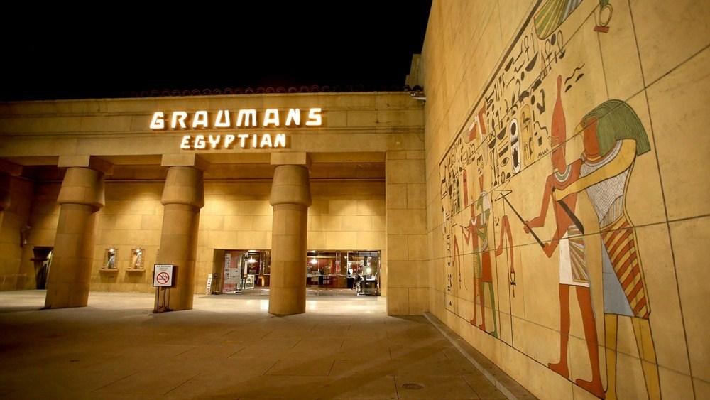 the egyptian theatre getty h 2019  消息指稱Netflix已經完成洽談收購好萊塢地標之一的埃及劇院
