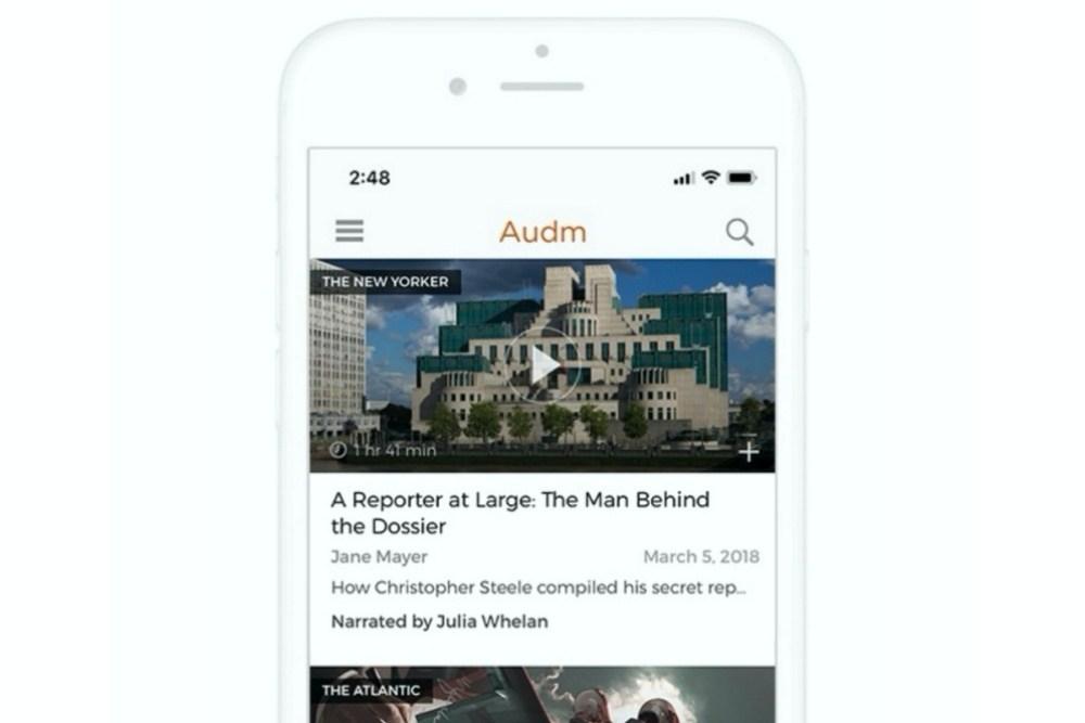 iphone side side side 「聽」報時代來臨,紐約時報收購提供以真人聲音讀報服務Audm