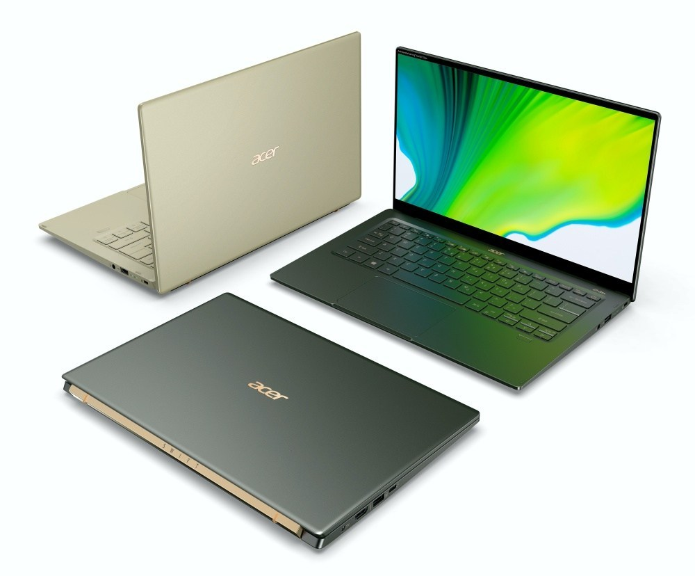 Acer Swift 5 SF514 55 High 01 宏碁更新新款Swift 5,搭載Intel Tiger Lake架構的第11代Core i處理器