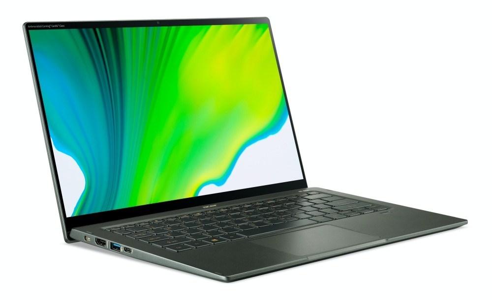 Acer Swift 5 SF514 55 High 04 宏碁更新新款Swift 5,搭載Intel Tiger Lake架構的第11代Core i處理器