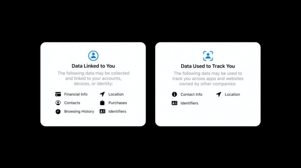 mashdigi capture 2020 06 23 上午1.58.53 確保用戶隱私,蘋果在app下載內容增加說明個人數據如何被使用
