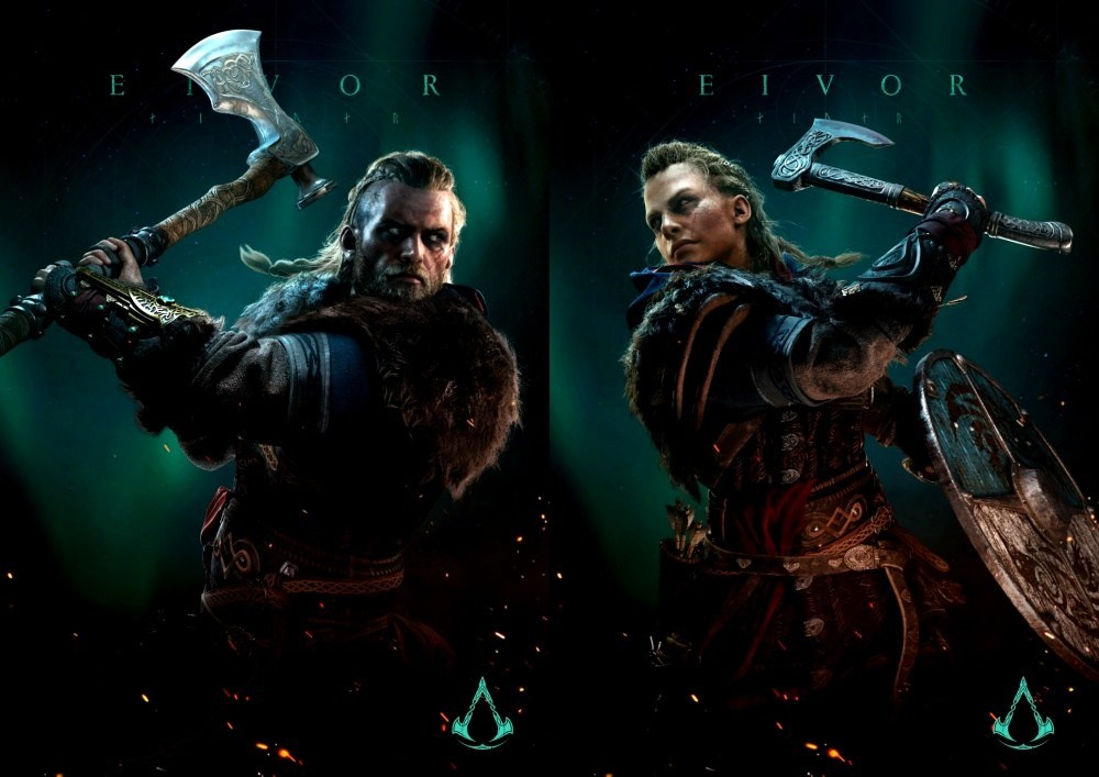 Helix ACK MR EivorMaleAction Final V02 side 《刺客教條:維京紀元》確認將於11/17上市,釋出新遊戲內容概覽介紹影片
