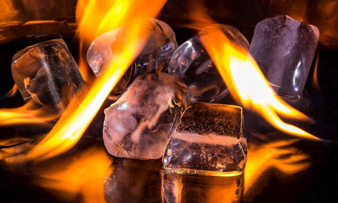 LiFe生活化學,知識文章,可燃冰,能源,冰,火,化石燃料,燃燒,開採新興能源