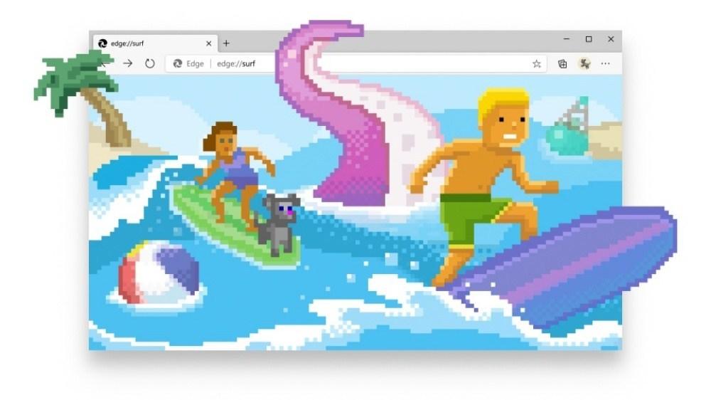 ac849e2218ad3291c33259ce3cc01f4a Microsoft Edge瀏覽器正式加入離線衝浪遊戲