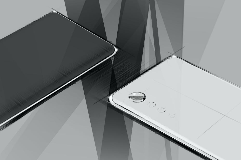 LG New Design 01 LG透露下一款手機設計語言,將採前後雙曲面、雨點排列鏡頭