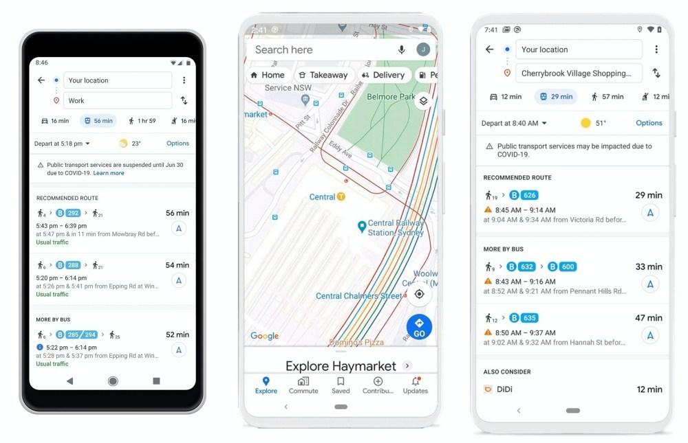 Blog 1.max 2000x2000 side Google Maps在導航過程增加更多新型冠狀病毒防疫資訊