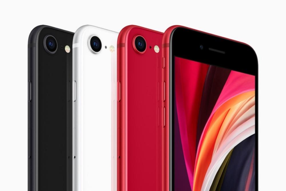 Apple new iphone se black white product red colors 04152020 inline 1.jpg.large 2x 1 比一比/新款iPhone到底有哪些功能上的差異? 少了超寬頻、夜拍與3D Touch