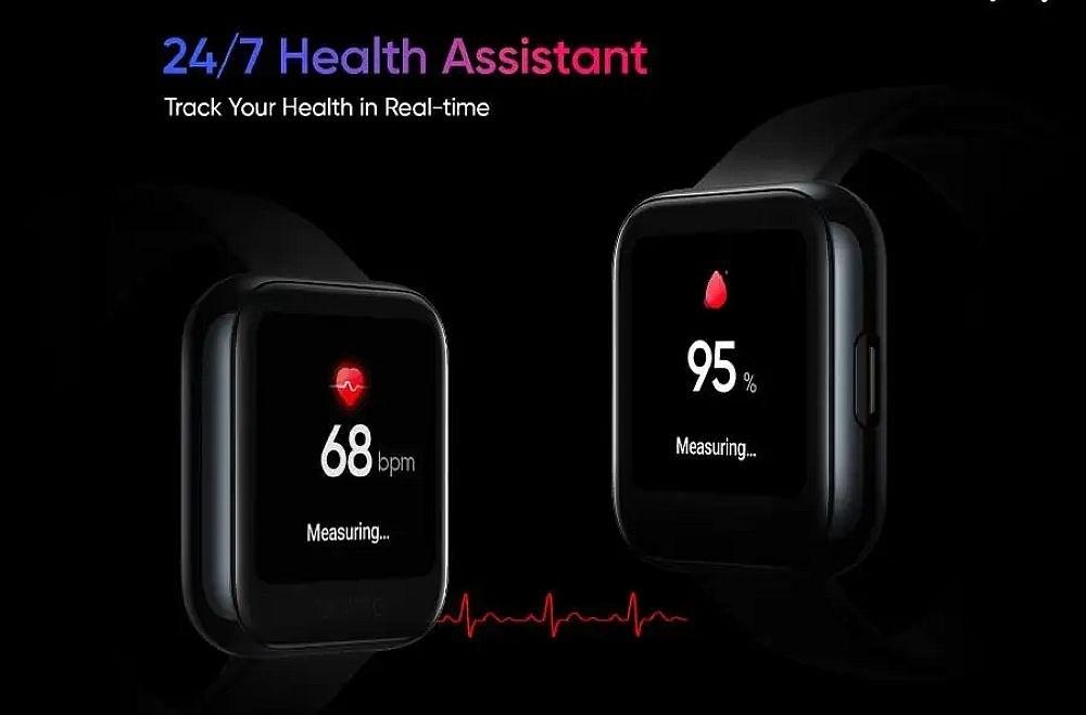 67faa7716eb3d1f realme公布旗下智慧手錶外型,強調具備多樣運動數據與血氧量測功能