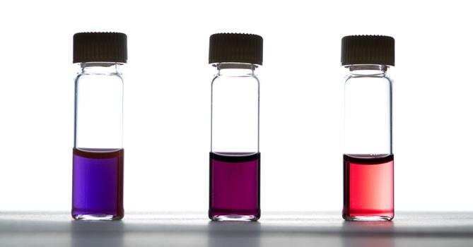 LiFe生活化學,知識文章,奈米金,微小,紅色,紫色,