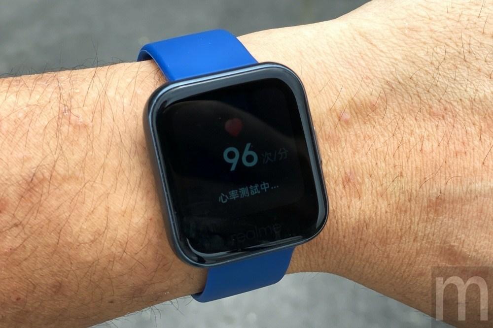 IMG 3338 動手玩/親民價位就擁有心率、睡眠與血氧量測功能的realme Watch