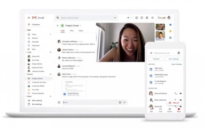 66372 20200716101157112 991395047 Google計畫將更多G Suite功能帶到Gmail服務內