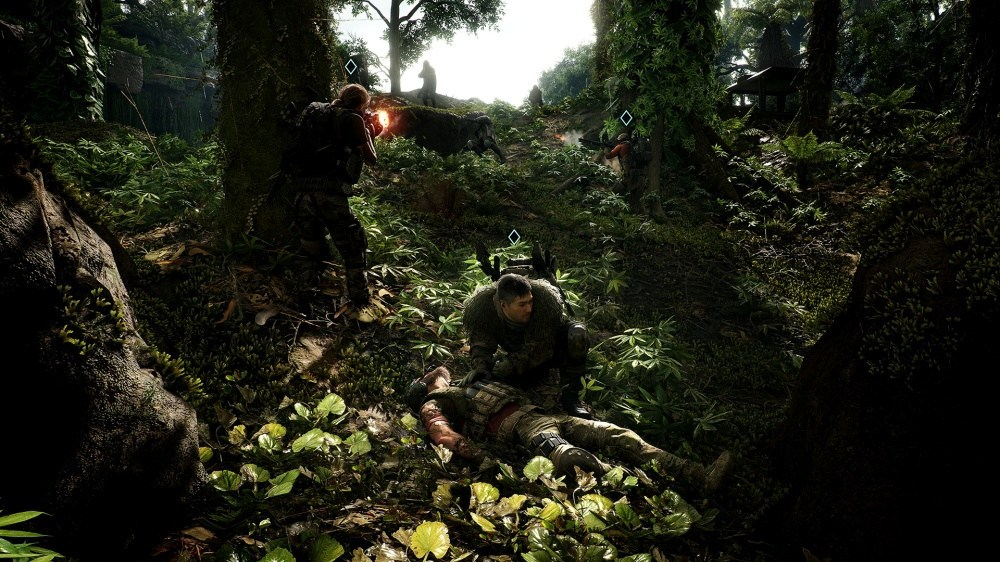 GRB Screen02 Teammates 200712 9pm CEST 《火線獵殺:野境》免費更新,追加協助單人玩家完成任務的「AI對友」功能