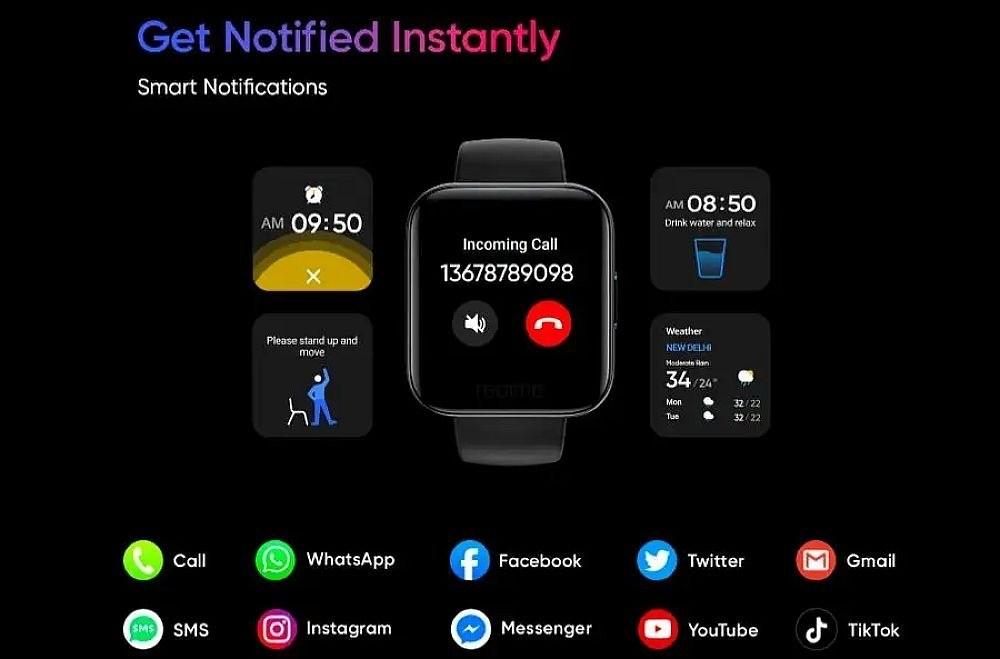 bbd7143bb1b2b8c realme公布旗下智慧手錶外型,強調具備多樣運動數據與血氧量測功能