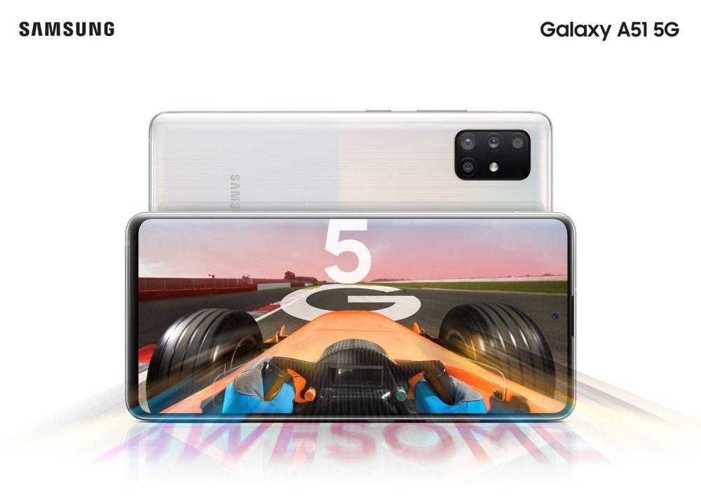 Galaxy A51 5G main 三星透露Galaxy A51與Galaxy A71 5G連網版本將於7月中下旬登台