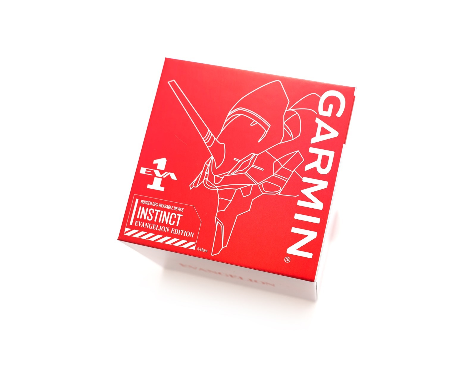 EVA 聯名真香!Garmin Instinct 本我系列 EVA 新世紀福音戰士 限定版 開箱 (初號機版本) @3C 達人廖阿輝