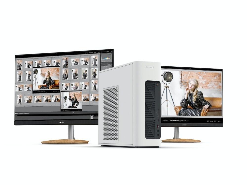 ConceptD 100 CM100 51A High 01 宏碁更新ConceptD 3系列筆電、小型桌機ConceptD 100