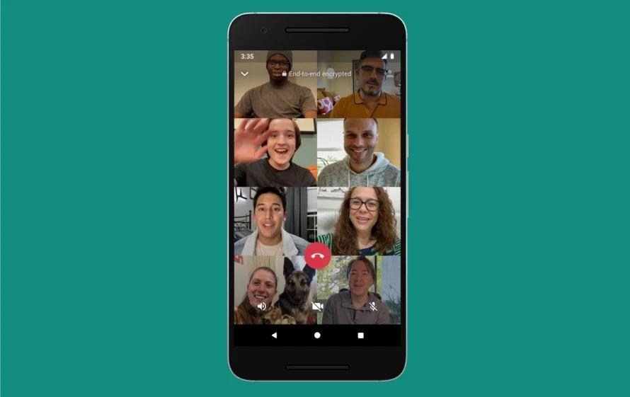 WA GroupCalls Colored.jpg Facebook加入視訊會議戰局,Messenger Rooms最多可讓50人同時上線