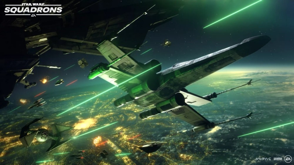 SCRN REVEAL STARFIGHTERS 《星際大戰:中隊爭雄》確認登上PS4、Xbox One與Steam平台