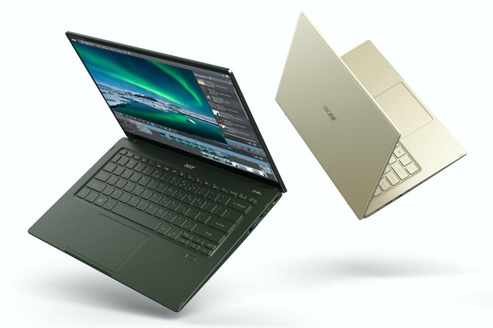 Acer Swift 5 SF514 55 High 02 宏碁更新新款Swift 5,搭載Intel Tiger Lake架構的第11代Core i處理器
