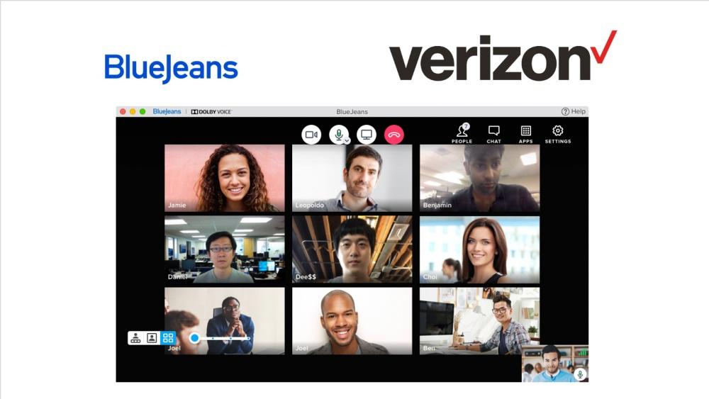 Verizon BlueJeans 2 Verizon宣布收購老字號線上視訊會議服務BlueJeans,擴充商用及5G連網應用項目