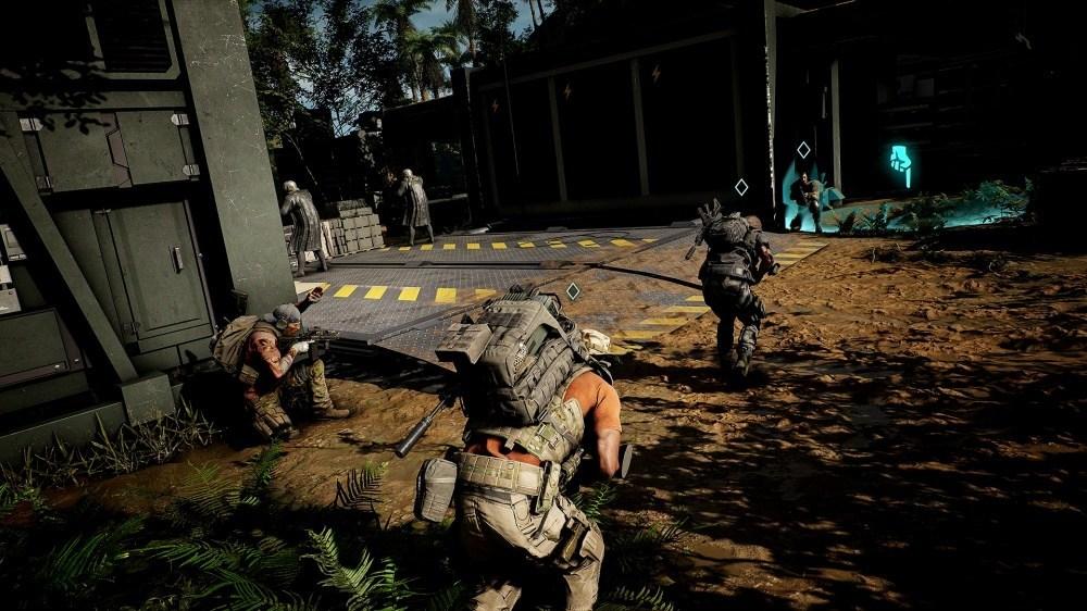 GRB Screen01 Teammates GoTo 200712 9pm CEST 《火線獵殺:野境》免費更新,追加協助單人玩家完成任務的「AI對友」功能