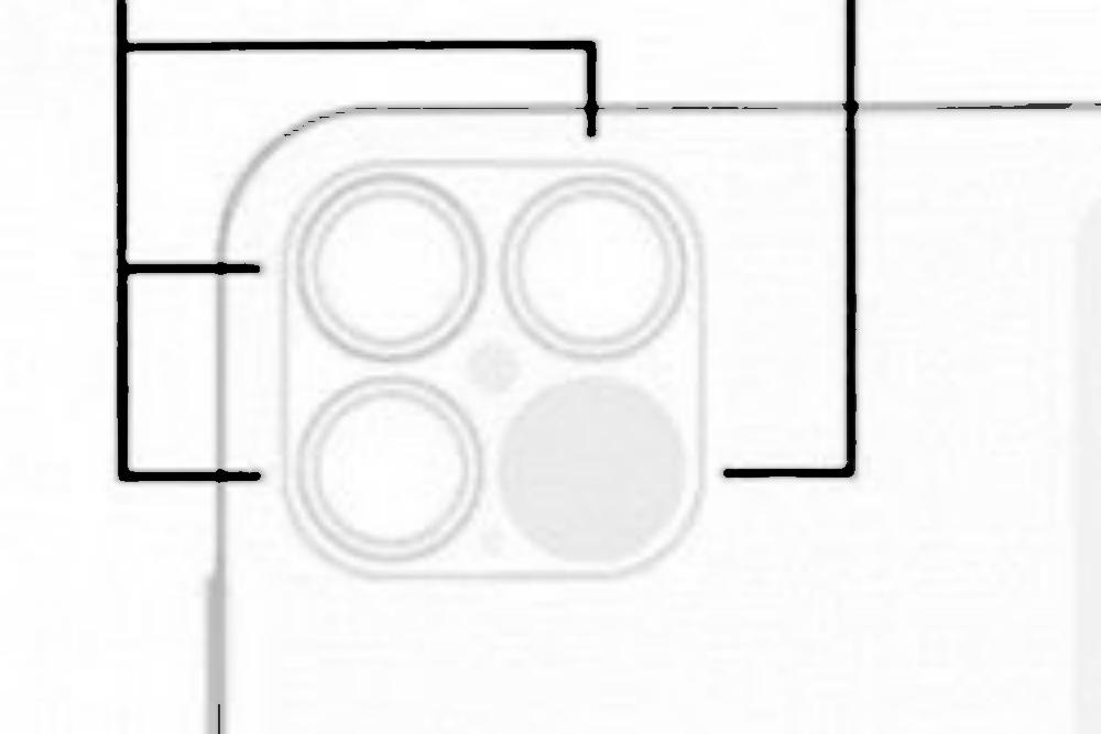 圖像顯示新款iPhone 12 Pro系列將會搭載LiDAR光達元件