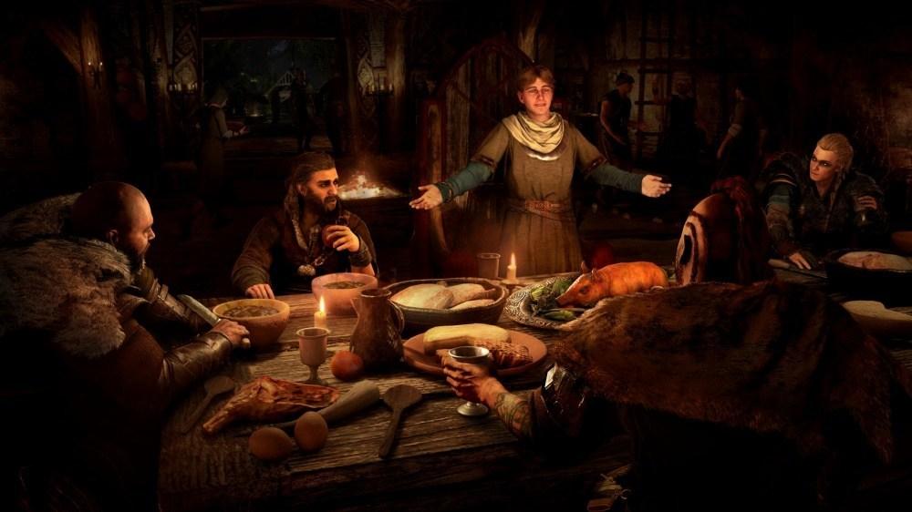 ACV 14 Viking Dinner 《刺客教條:維京紀元》確認將於11/17上市,釋出新遊戲內容概覽介紹影片