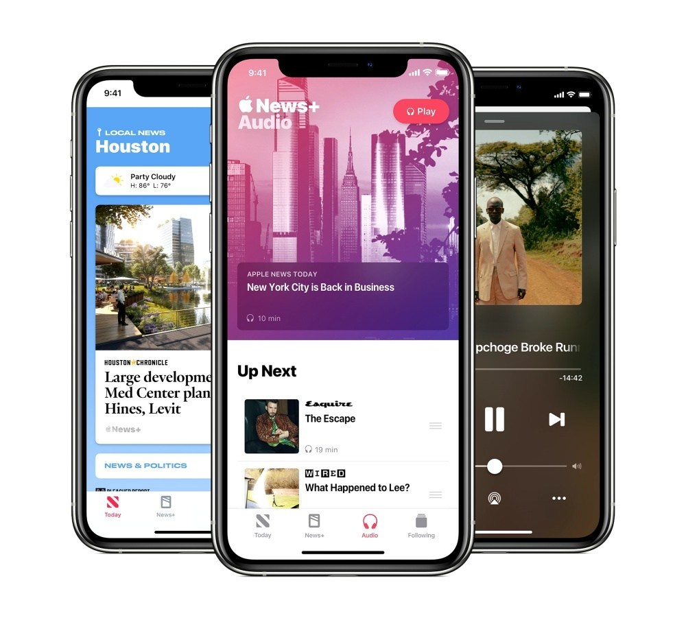 apple apple news update july apple news new features a 07152020 big.jpg.large 2x Apple News、News+正式推出有聲內容,讓使用者能用耳朵「閱讀」新聞