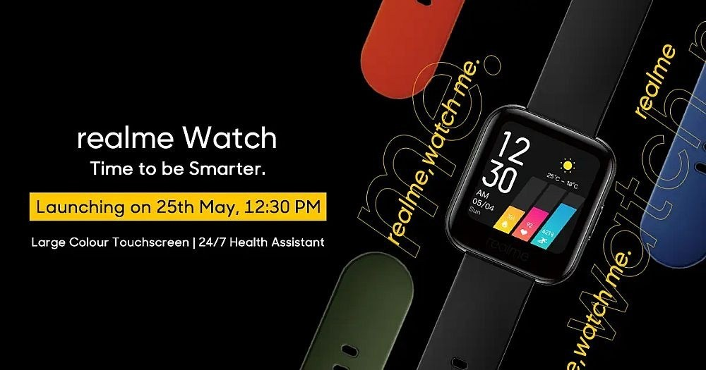 7d1539211c91df2 realme公布旗下智慧手錶外型,強調具備多樣運動數據與血氧量測功能