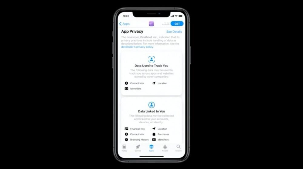 mashdigi capture 2020 06 23 上午1.59.01 確保用戶隱私,蘋果在app下載內容增加說明個人數據如何被使用