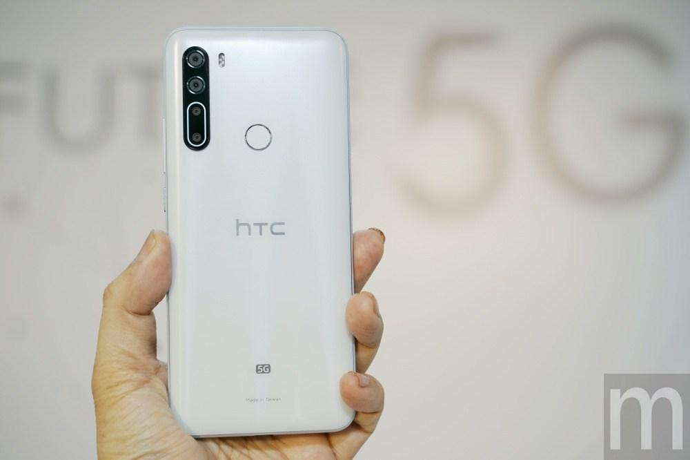 DSC08628 第一款在台設計、製造的5G連網手機,HTC U20 5G亮相