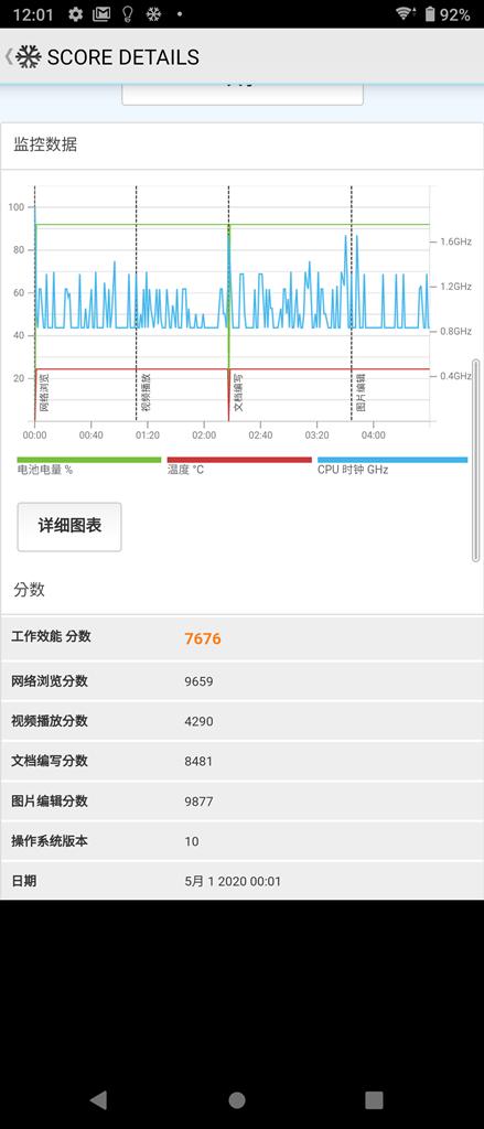 Sony Xperia 10 II 新機實測 (2) 性能電力速報 / 遊戲實測 / 充電測試 @3C 達人廖阿輝