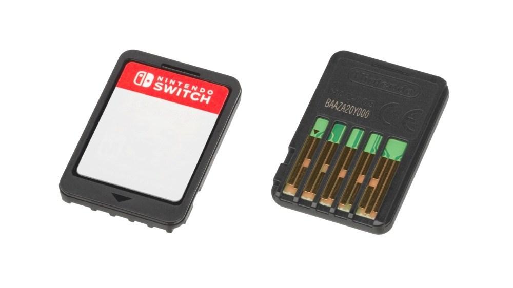 Nintendo Switch Cartridge 一張Nintendo Switch的遊戲卡匣就能塞下所有Nintendo 64遊戲