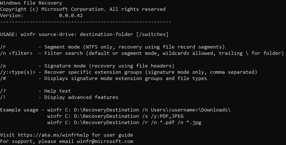 微軟釋出自有檔案恢復工具,但可能不是針對一般消費者提供