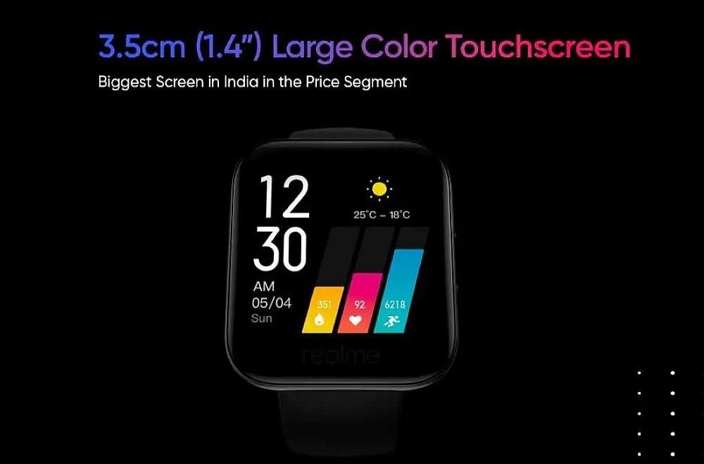 5bf21a11254ffc8 realme公布旗下智慧手錶外型,強調具備多樣運動數據與血氧量測功能