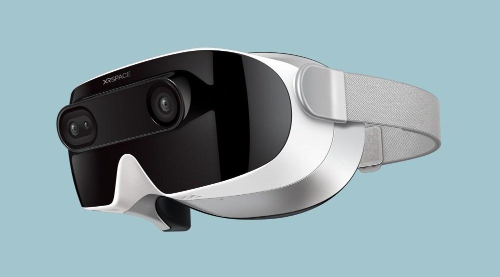 rpIUhsQQ 前HTC執行長周永明創立,XRSPACE推出首款5G混合實境頭戴裝置