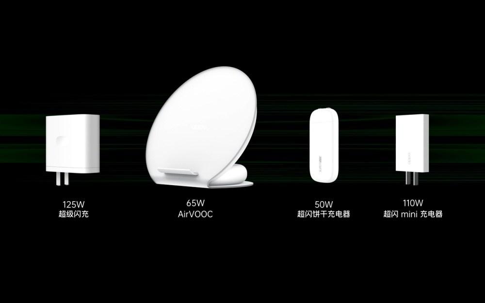 7b3b9edbcca4ad7 OPPO揭曉125W有線閃充、65W無線閃充,以及體積更小的閃充充電器設計