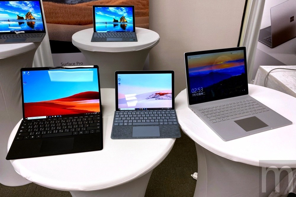 IMG 4097 Surface Pro X之後,微軟也在台灣引進Surface Go 2及Surface Book 3