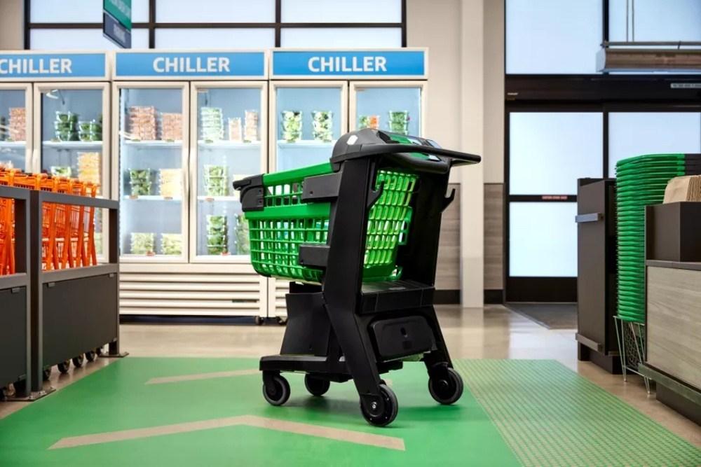 dashlane 亞馬遜打造智慧購物推車Dash Cart,方便使用者店內採買