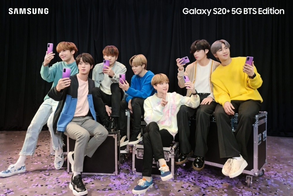 Galaxy S20 BTS Edition 4 e1591987044826 BTS特別版Galaxy S20+、Galaxy Buds+將同步於三星官網、亞馬遜銷售