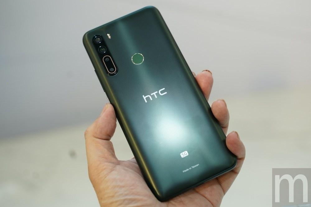 DSC08612 第一款在台設計、製造的5G連網手機,HTC U20 5G亮相