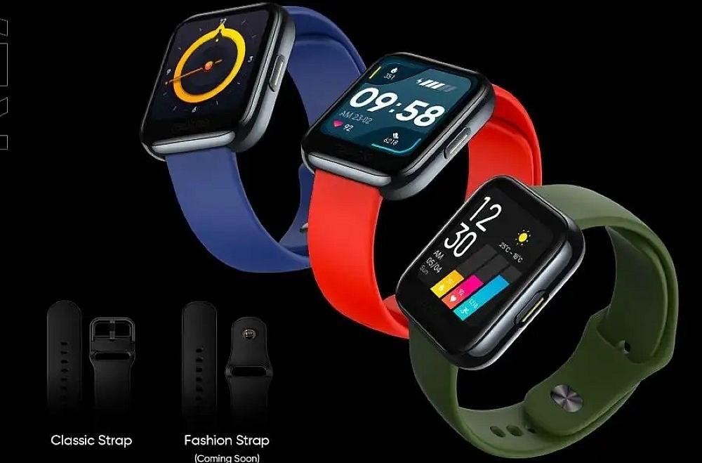 8ab601c076fe829 realme公布旗下智慧手錶外型,強調具備多樣運動數據與血氧量測功能