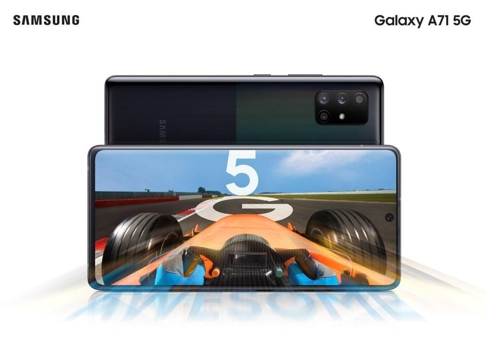 Galaxy A71 5G main 三星透露Galaxy A51與Galaxy A71 5G連網版本將於7月中下旬登台